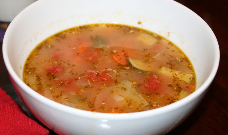 Italian veggie soup