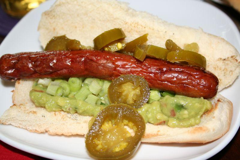 Gormet chef hot dog recipes