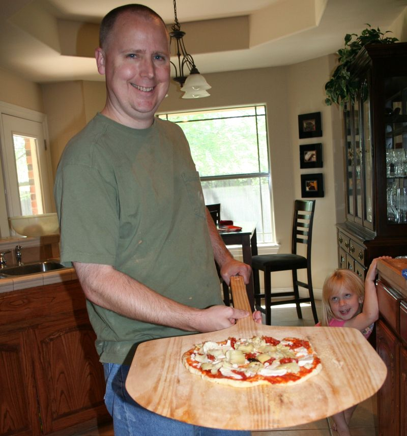 Ken the pizza chef