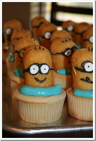 minion cupcakes 004